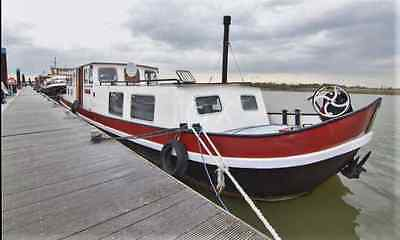 Dutch Barge AAk 60ft house boat liveaboard with mooring near London