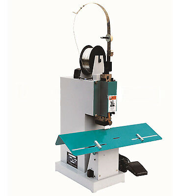 M2000 Electric Flat&Saddle Stapler Paper Bookbinding Machine w/Foot Pedal 220V Y