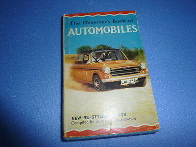 Observer's Book of Automobiles 1970