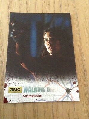 The Walking Dead Season 4 Part 2 Silver foil parallel card #25 (12/99)