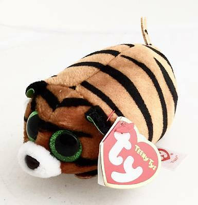 TY Beanie Teeny TYS Tiggy the Tiger Stackable Plush Soft Toy Beanies - NEW