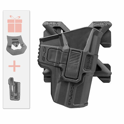 Fab Defense Roto Holster Level 2 w/ 360 Swivel for Glock 17 19 22 - G9R MX