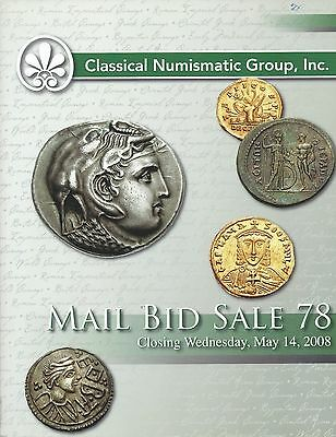Cng Mail Bid Sale 78 May 14 2008 Classical Numismatic Group Catalog
