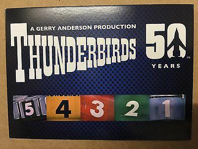 Thunderbirds 50 Years Complete Set Of 54 Base Cards Unstoppable Cards