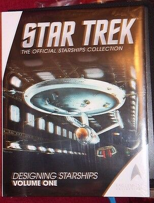 Star Trek Eaglemoss Designing Starship's HB Book