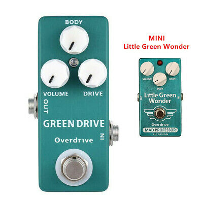 Moskyaudio GREEN DRIVE  Pedal Guitar Effect Pedal Overdrive