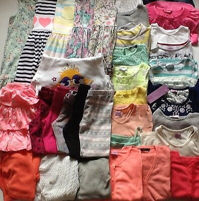 Girls Clothes Huge Bundle 6-7 Years Lots H&M Dresses Cardigans Gap Tshirts