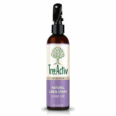 TreeActiv Natural Linen Spray Fabric Refresher, Bedding and Clothing 8 oz