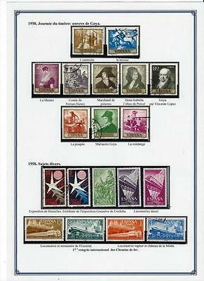"""Collection Timbres """"espagne"""""""