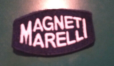 Margneti Marelli Vintage Small Embroidered Patch - Ferrari / Maserati / Alfa