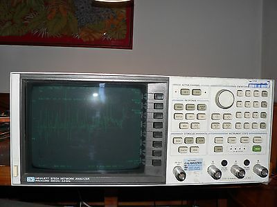 HP 8753A 300kHz-3GHz VECTOR NETWORK ANALYZER