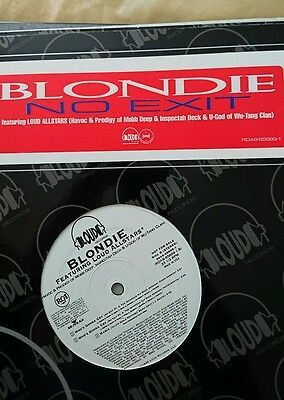 "Blondie featuring Mobb Deep inspectah deck and U god no exit 12"" Wu-Tang"