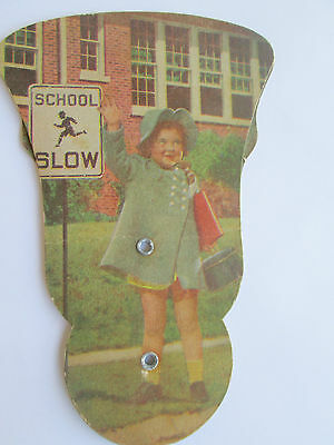 Vintage Advertisng Church Hand Fan == Linton Funeral Home Kinmundy IL ILL 7641