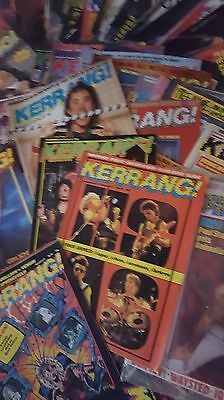 88 Kerrang magazines joblot metal rock collection 1980s Prince, Ozzy, WhiteSnake