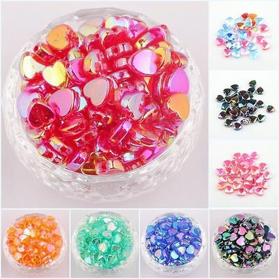 NEW DIY 8mm 9mm Colour Acrylic Round Pearl Spacer Loose Beads Jewelry Making^^