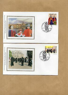 Philatelie - Timbre /courrier - 2 Fdc Z/s 05/06/99 - Tourisme - Folklore