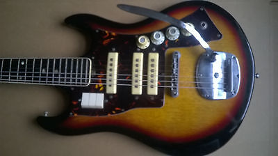 Norma Electric Guitar Made in Japan Vintage  Teisco guitar RARE MODEL