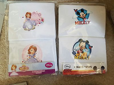 disney vests job lot wholesale girls and boys