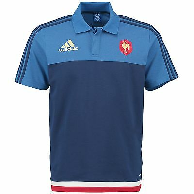 Adults Large France FFR Anthem Polo M44