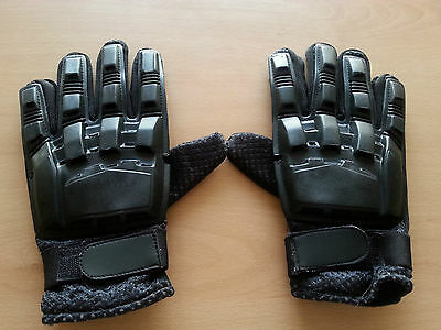 Paintball Airsoft Paint Ball Combat Cycling  Armoured Gloves (size L)