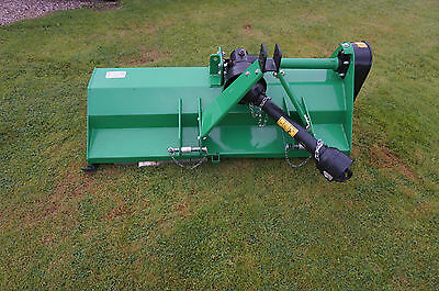 FLAIL MOWER TOPPER for compact tractor PTO driven john deere NO VAT warranty