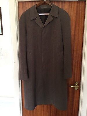 Dunn And Co Vintage Men's Coat Medium, Brown/fawn In Colour. Shower Proof