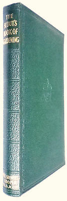 Scout's Book Of Gardening-Vintage H/bk-1938-Scout Book Club-Great Condition!!!