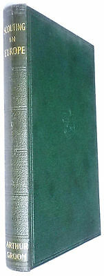 Scouting In Europe-Groom-Vintage H/bk-1938-Scout Book Club-Great Condition!!!