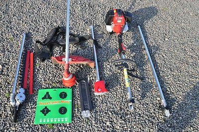 5 in 1 Petrol Strimmer/Chainsaw/Brushcutter/Hedge-trimmer