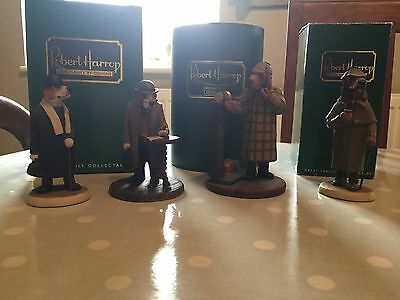 Robert Harrop Sherlock Holmes and Dr Watson Collection 4 Pieces