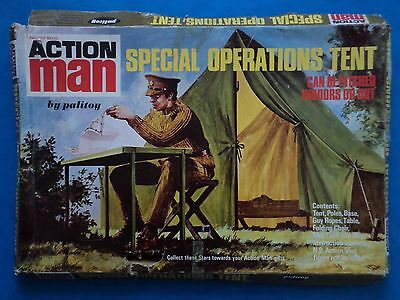 Vintage Toy - ACTION MAN - SPECIAL OPERATIONS TENT - Palitoy