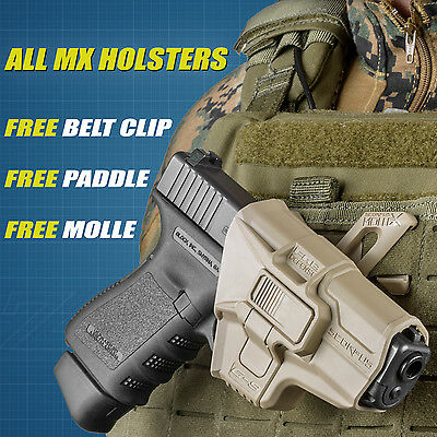 Fab Defense MX Level 2 Retention Holster w/ 360 Swivel - ALL Models