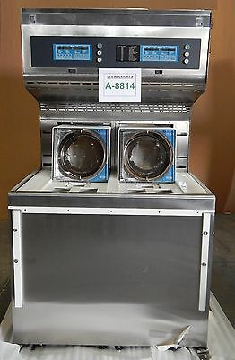 Verteq 1800-6 Dual Bay 200mm Wafer SRD Spin Rinse Dryer System Used Working