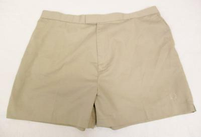 W38 L - Vintage 80's Fred Perry Mens Beige Shorts Retro Tennis Mod Scooter - J85