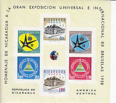 Ncaragua S/S, Sc 555A, Imperf., MNH, (S4664)