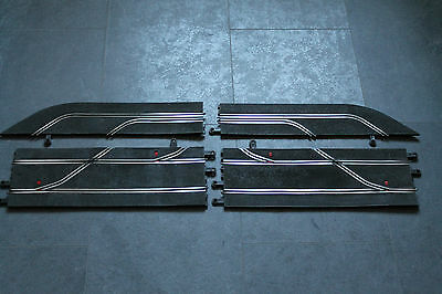 Scalextric Classic Pit Lane / Stop C190 Pt90 Very Good Condition Shiny Rails
