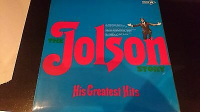 The jolson story His greatest hits Mono MUP 384 LP