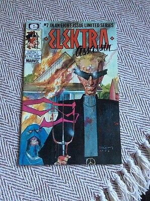 ELEKTRA Vol.1, #7 Boarded & Sleeved COMBINED POSTAGE OFFERED