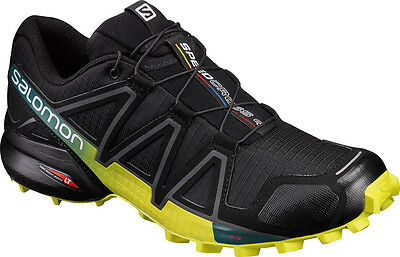 Salomon Speedcross 4 Herren Laufschuhe Trail-Running schwarz Outdoor L39239800