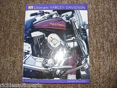 Ultimate Harley Davidson Hardback Book Dated 2007 Good Used Condition