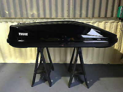 Thule Touring Roof Box Large Black Gloss 420 Litres (780)