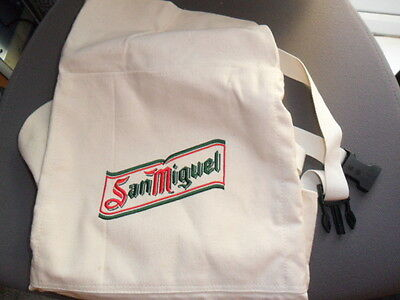 SanMiguel apron, ideal BBQ wear, new unused and very good condition