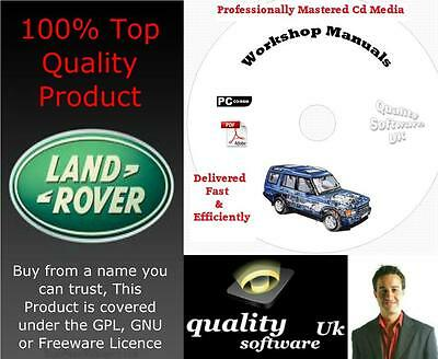 LAND ROVER DISCOVERY 2 II Workshop Repair Manual on CD