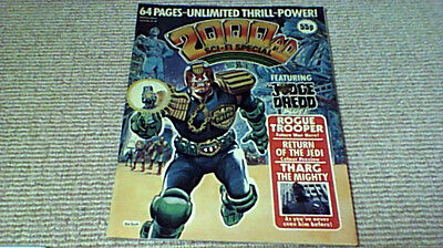 2000AD SCI-FI SPECIAL 1st IPC UK 1983 featuring JUDGE DREDD Ron Smith John Byrne