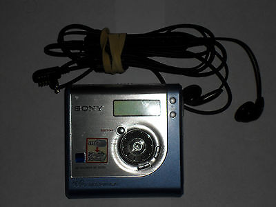 Sony MZ-NH700 Recordable Minidisc Player Mini Disc Vgc Free Uk Postage