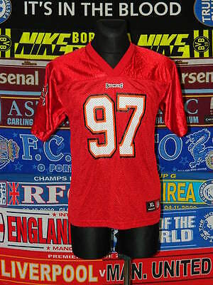 5/5 Tampa Bay Buccaneers size youth XL 18/20 NFL american football shirt jersey