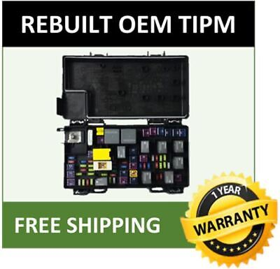 2013 Jeep Grand Cherokee TIPM / Fuse Box / Fuse Relay Box OEM 68244877