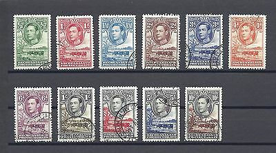 BECHUANALAND 1938-52 118/28 USED Cat £100