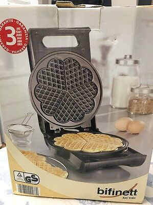 waffle maker By Bifinett In Unused Condition Boxed
