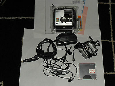 Sony MZ-NH900 MD WALKMAN Hi-MD 1GB MiniDisc Player Boxed Free Uk Postage